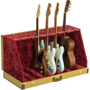 Fender Classic Series Case Stand 7 Guitars Tweed