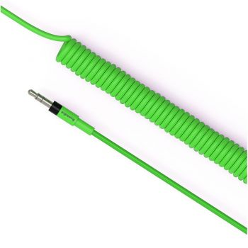 Teenage Engineering Curly Audio Cable Green