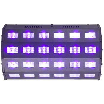 Ibiza Light LED-UV24 EFECTO DE LED UV 24 X 3W