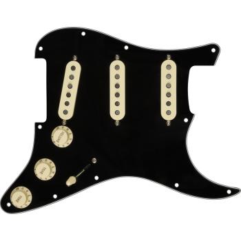 Fender Golpeador Pre-Wired Strat Custom Shop 69 SSS Black