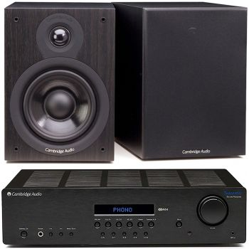 CAMBRIDGE TOPAZ SR-20+SX50 BLACK Conjunto sonido