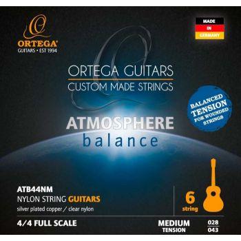 Ortega ATB44NM Juego de Cuerdas para Guitarra Clásica
