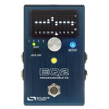 Source Audio SA270 EQ2 Pedal Ecualizador Programable Para Guitarra y Bajo