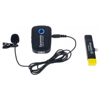 Saramonic Blink 500 B3 Micrófono Inalámbrico de 2,4 GHz con Micrófono de Solapa