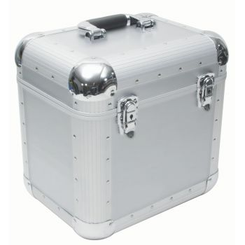 Roadinger Record Case ALU Maxi Booking rounded