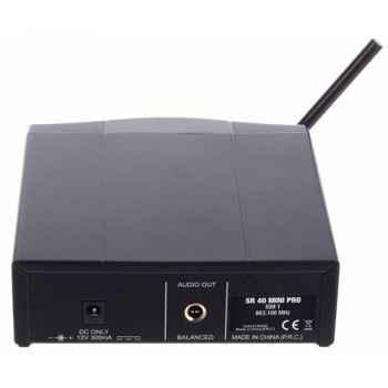 AKG WMS-40 MINI INSTRUMENTAL SET Microfono Inalambrico  Petaca ISM3
