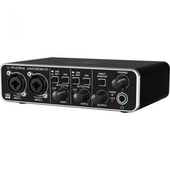 BEHRINGER UMC202 HD U-PHORIA  Interface de Audio/Midi USB, UMC-202HD