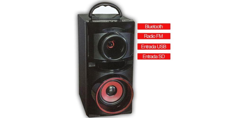 ALTAVOZ Bluetooth RETRO ES03B Con Radio y Entrada USB y SD