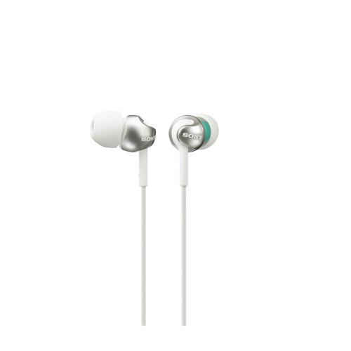 SONY MDR-EX110LPW Auricular Intraural Blanco