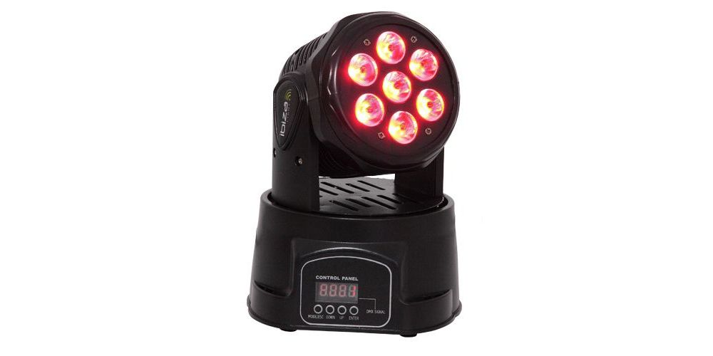 IBIZA LIGHT LMH350LED MINI CABEZA