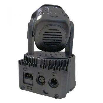IBIZA LIGHT LMH350LED Mini Cabeza Movil Wash 4 en 1