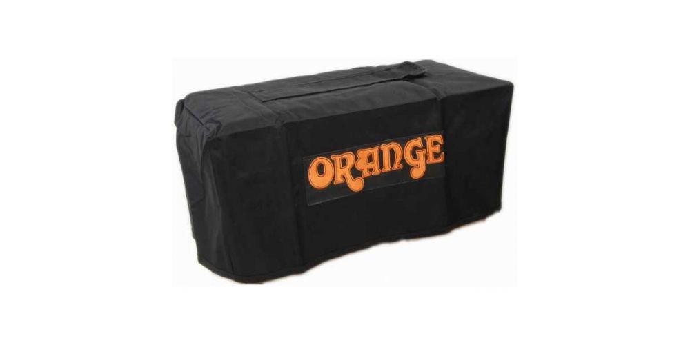 Orange Large Head Bag maleta