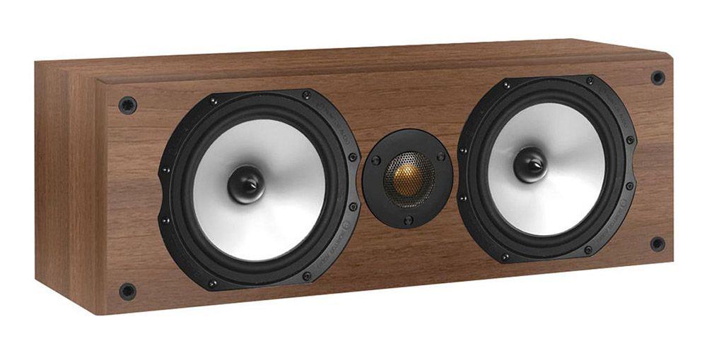 monitor audio mr center walnut altavoz central
