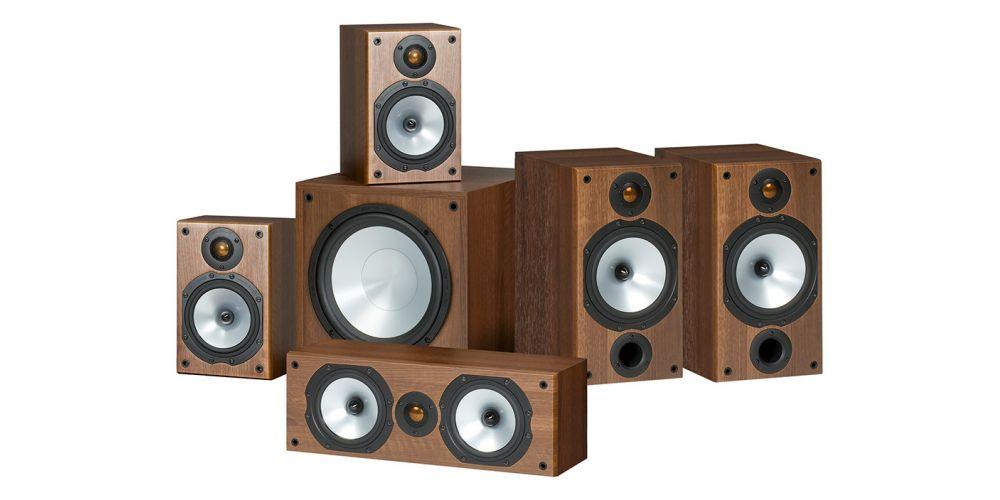 monitor audio mr2 av 5 1 altavoces home cinema walnut