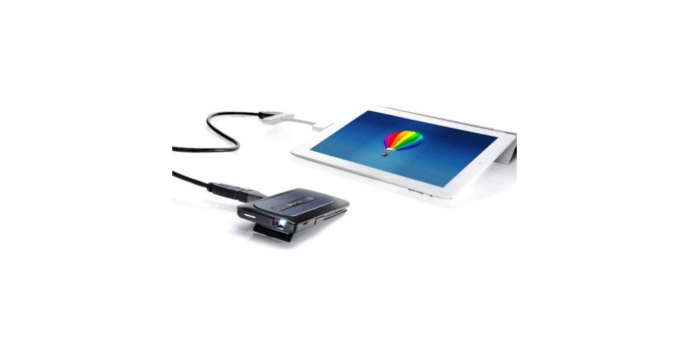 aiptek a50p mobile cinema proyector portatil proyecta smartphone tablet