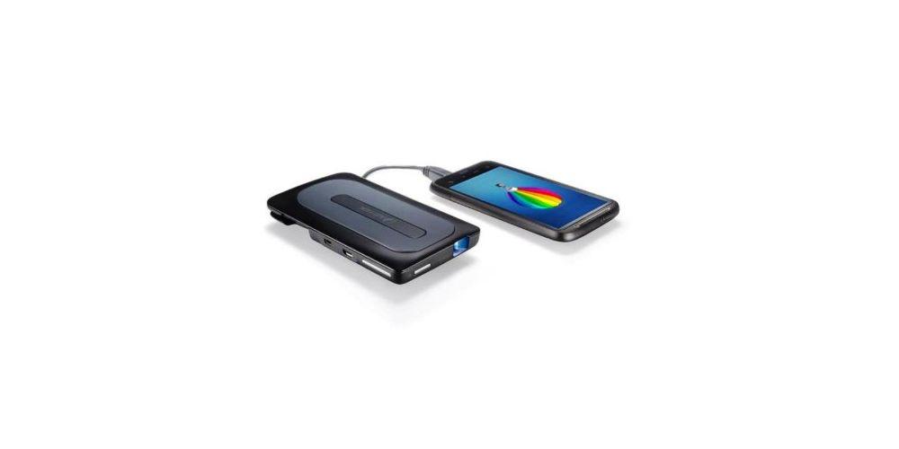 aiptek a50p mobile cinema proyector portatil proyecta smartphone