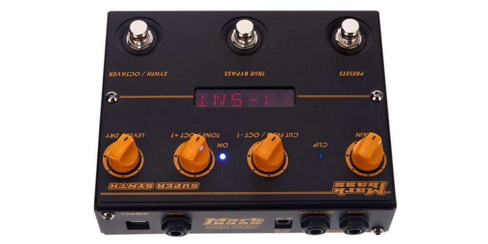 Markbass Markbass Super Synth Sintetizador y Octavador para bajo