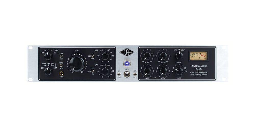 universal audio 6176 frontal