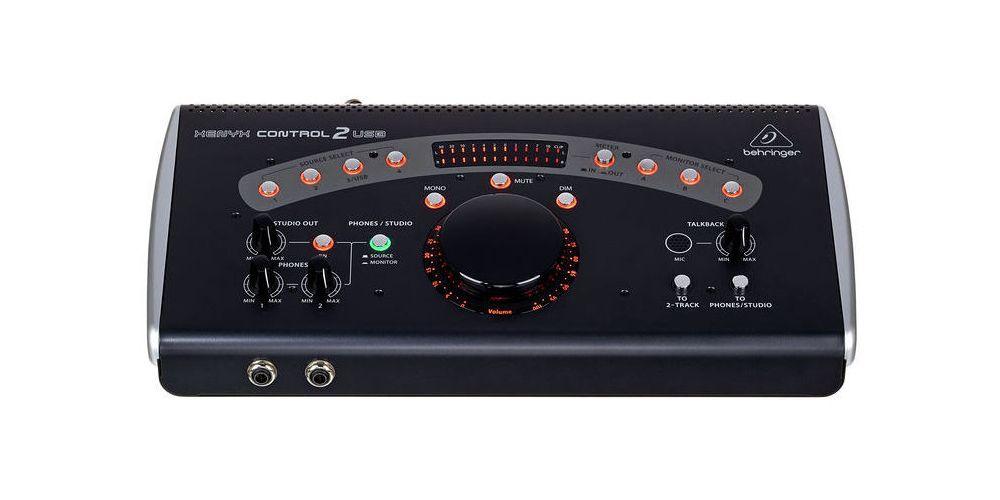behringer control2usb controlador monitor