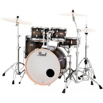 Pearl Decade Maple Standard Satin Black Burst