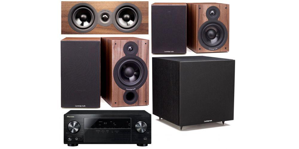 pioneer vsx330 cambridgea sx 60 walnut cinema pack sx60 sx50 sx70 altavoces hifi