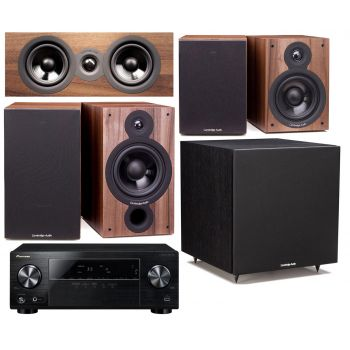 Pioneer VSX-330K + Cambridge SX60 Walnut CINEMA PACK 5.1