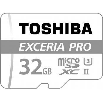 TOSHIBA Micro SD 32Gb Clase 10 + Adaptador SD THN-M401S0320E2 Exceria PRO