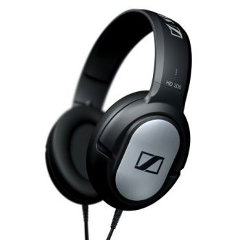 Sennheiser HD 206 Auricular Dinamico Cerrado