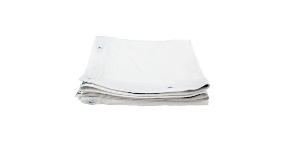 showtec square cloth white 89060