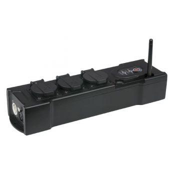 Showtec Regleta PowerBOX 3 Enchufes RF:90660