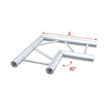 Showtec Corner 90 horizontal Tramo Angulado para Truss GS30003H