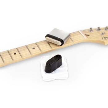 Fender Speed Slick Limpiador de cuerdas Negro/Gris