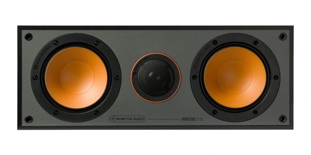 monitor audio monitor c150 blk altavoz central negro