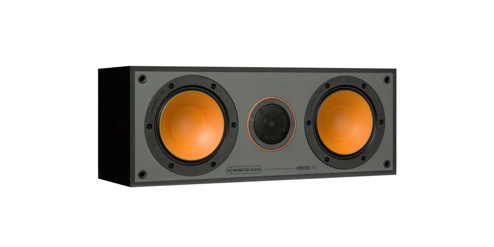 monitor audio monitor c150 blk altavoz central