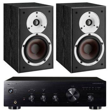 Pioneer A-10K + Dali Spektor 2-BK Conjunto audio
