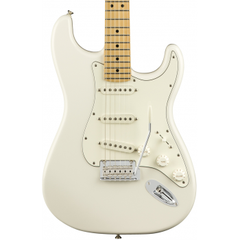 Fender Guitarra Eléctrica Player Stratocaster MN Polar White