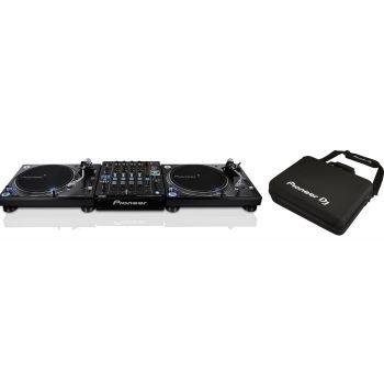 2 PIONEER PLX 1000 Giradiscos Dj + DJM-S9 y DJC-S9 Bag