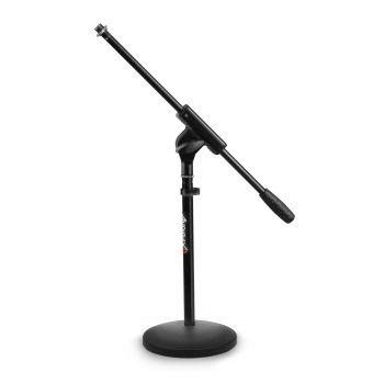 Audibax MS-044B Soporte Micrófono Corto para Instrumentos