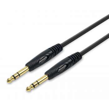 Audibax Bronze Gold Cable Jack Stereo a Jack Stereo 3 Metros