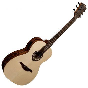 LAG T270PE Guitarra Electro Acústica Formato Parlor Serie Tramontane ( REACONDICIONADO )