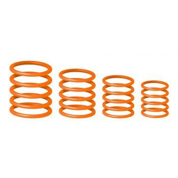Gravity RP 5555 ORG 1Juego universal de anillos naranjas