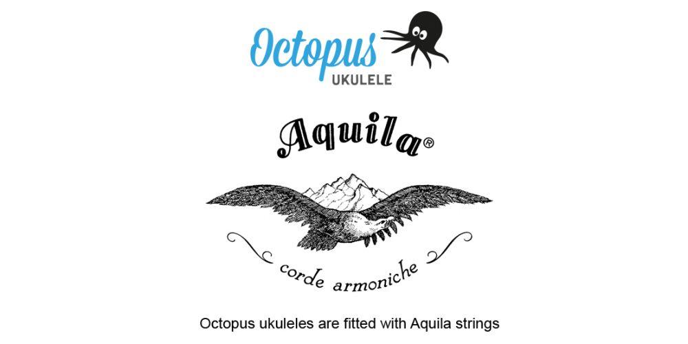 Ukelele octopus cuerdas aquila