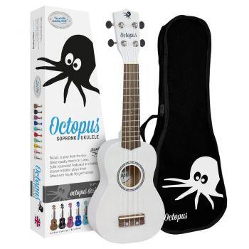 Octopus UK 200 WH Ukelele Soprano Blanco