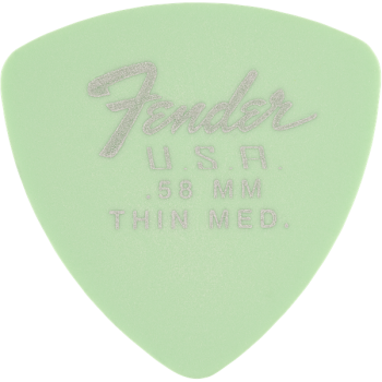 Fender 346 Dura-Tone Surf Green Pack 12