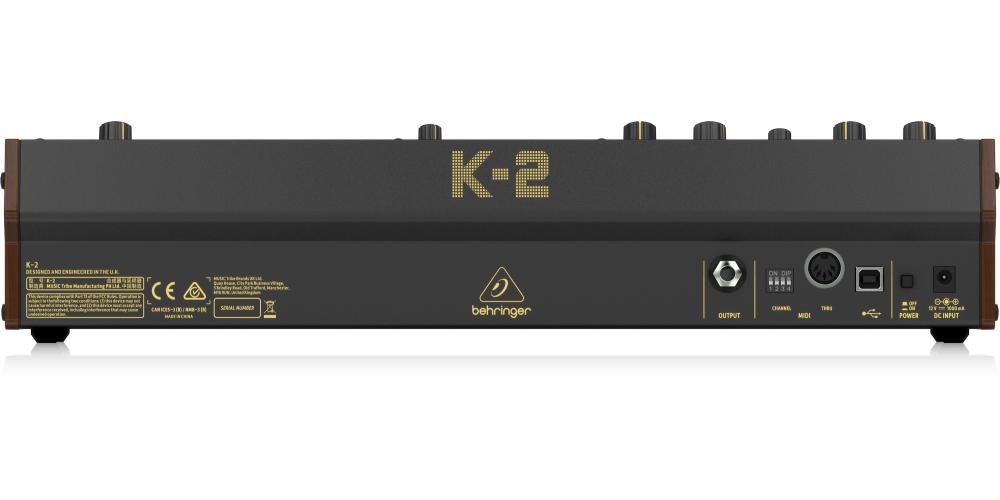 behringer k2 conexiones