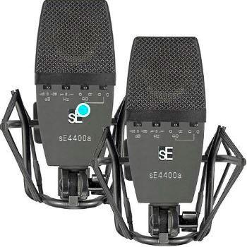 sE Electronics Micrófono de condensador gran diafragma SE4400A Pareja