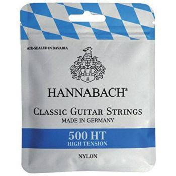 Hannabach 500HT Cuerdas para Guitarra Clásica Tensión Alta