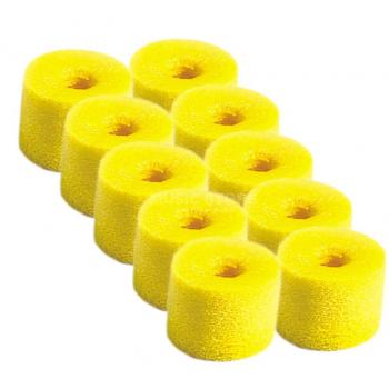 SHURE EAYLF1-10 Kit 10 Almohadillas Espuma para Earphones. Color amarillo.