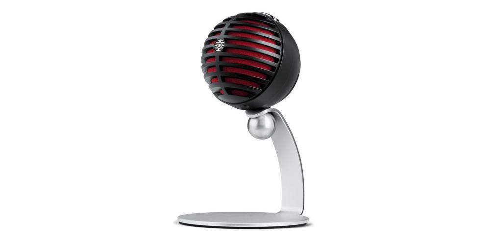 SHURE MV5 B DIG Microfono Digital de Condensador Negro con Cable Lightning