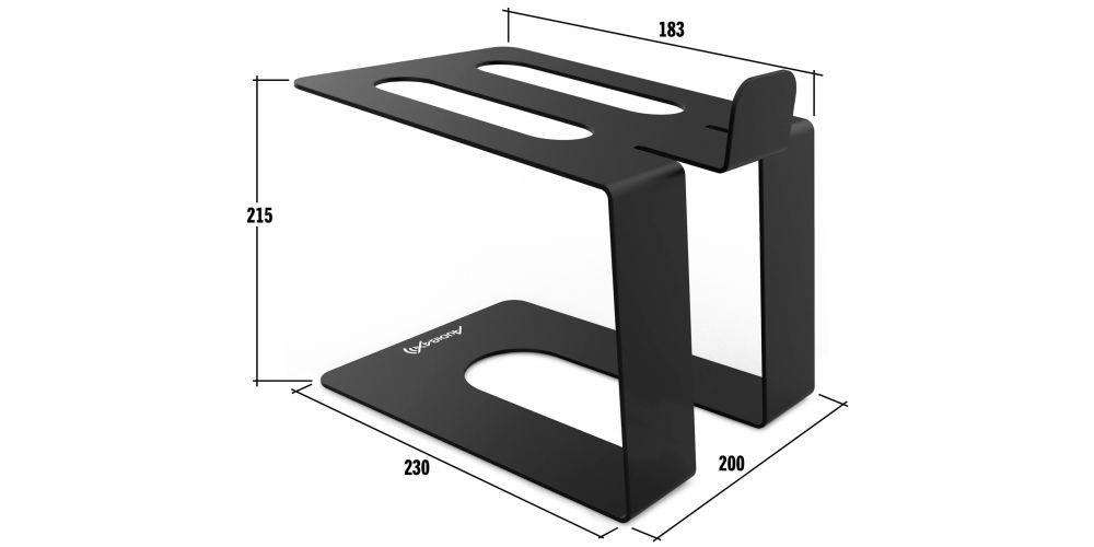 audibax neostm 40 soporte monitor medida